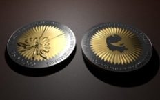 10000-Beso-Münze